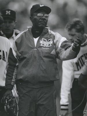 Michigan football assistant coach Tirrel Burton