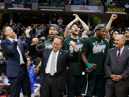 MSU has enjoyed its share of fun and success in the Big Ten tournament. Its tournament title in 2014, for example, atoned for a difficult regular season finish.