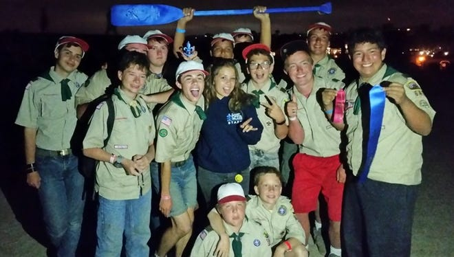 An area Boy Scout troop has won an award for the third year in a row.