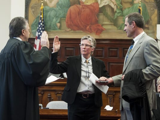 Judge Best Sworn In