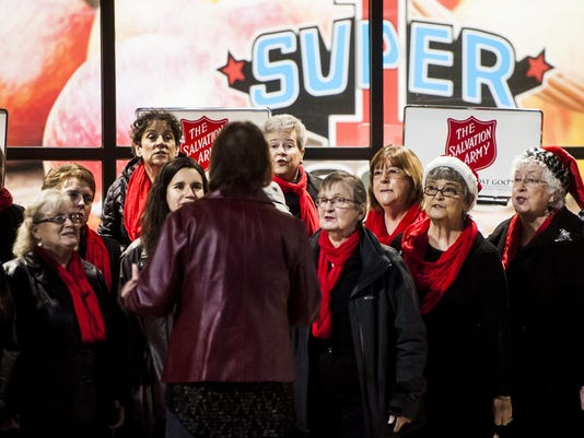 Salvation Army Red Kettle Kickoff