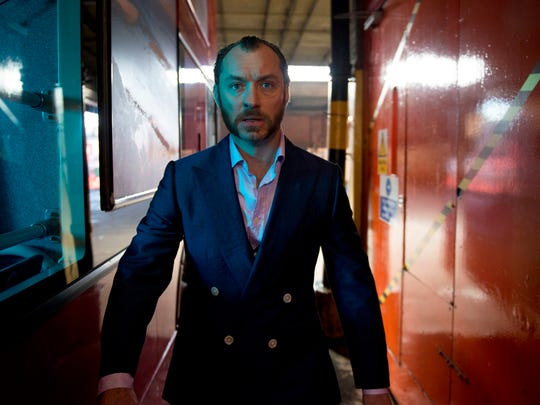 """Jude Law in a scene from """"Dom Hemingway."""""""