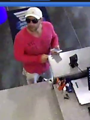 Toms River Police are searching for a man who stole a wallet at a local gym.
