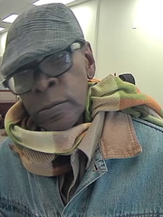 Police are seeking this man in connection with a bank robbery Friday in downtown Camden.