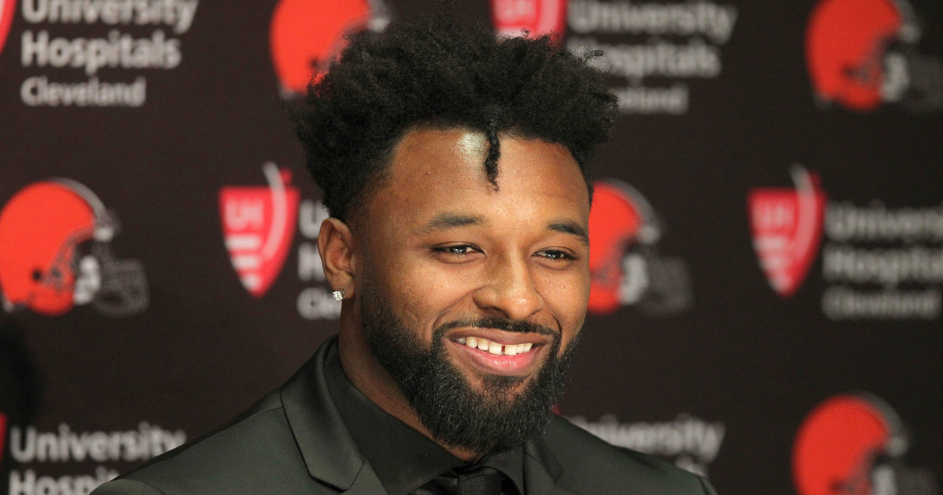 Jarvis Landry Browns Agree To Five Year 75 Million Contract