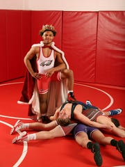 Penfield's Frankie Gissendanner is the king of the hill as far as New York State wrestling is concerned. He is the AGR Division I Wrestler of the Year.