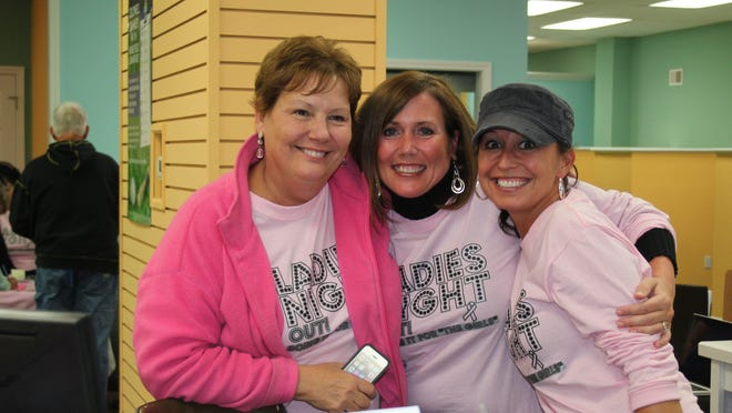 Ladies Night Out Ionia will sell T-shirts in 2020 to help raise money for breast cancer awareness.