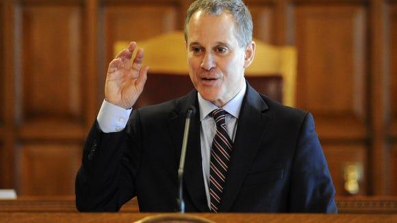 New York State Attorney General Eric Schneiderman.