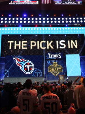 The NFL draft will be held in Chicago, Thursday-Saturday.