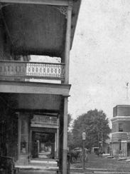 Solomon Jacobs Store on Jacobs Corner in the 1890s.