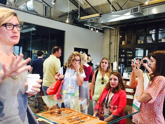 Bridget Russo, chief marketing officer, Shinola, talks