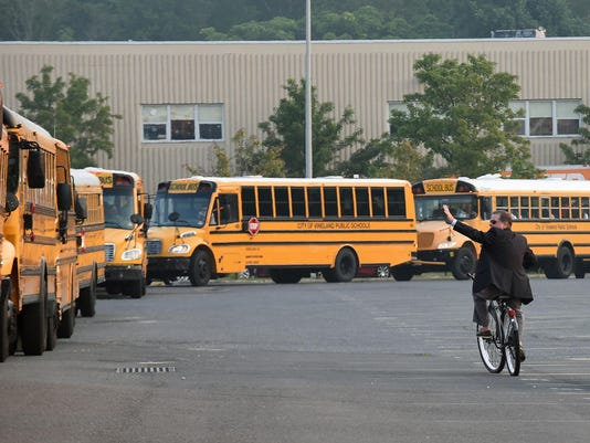 1st day of Vineland Public Schools