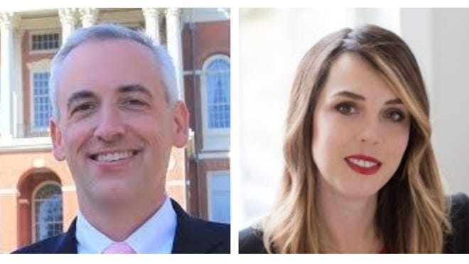 Incumbent Josh Cutler, left, and Tatyana Semyrog are vying for state representative of the 6th Plymouth District.