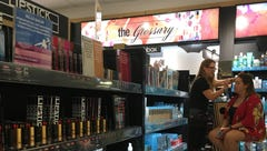 Looks over books? Campus bookstores cash in on cosmetics