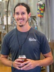 Jordan Weisberg is the head brewer at Point Ybel Brewing