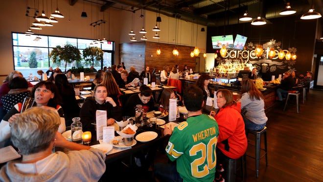 Gustav's Bargarten, located at 6045 Keizer Station Blvd. in Keizer, scored a 97 on its semi-annual restaurant inspection Feb. 16.