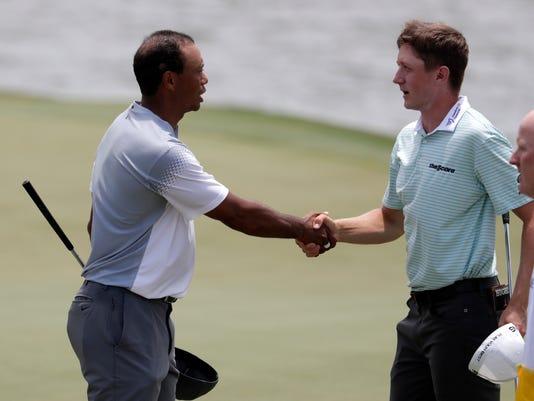 Tiger Woods,Mackenzie Hughes