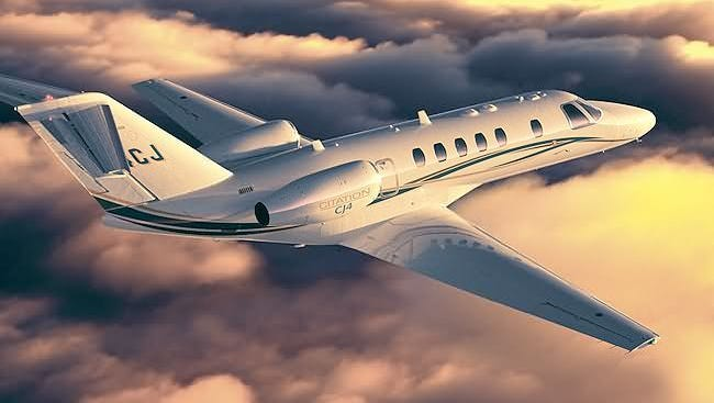 Reports say the Cessna Citation CJ4 will cost taxpayers $57,000-a-month.