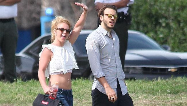 Britney Spears and Charlie Ebersol.