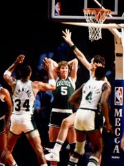 The Bucks and Celtics met in the playoffs often in the 1980s at MECCA.