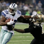 Dallas Cowboys running back DeMarco Murray leads the NFL in rushing with 670 yards.