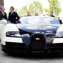 The Texas man admitted wrecking the $1 million Bugatti Veyron to collect on the insurance.