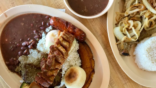 Las Delicias opened in 2002. The restaurant serves Colombian favorites.