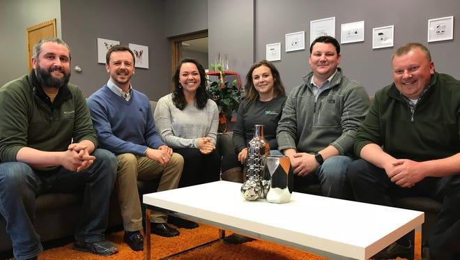 Zach Coleman, Kristopher Gasch, Jenna Moran, Sarah Salewski, Tim O'Connor and Keith Wilkes make up Current-Wisconsin Rapids' leadership team.