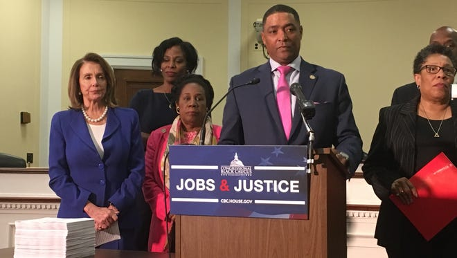 Rep. Cedric Richmond, D-La., chairman of the Congressional Black Caucus, and other caucus members  have been pushing national Democrats to focus more on races in the South.