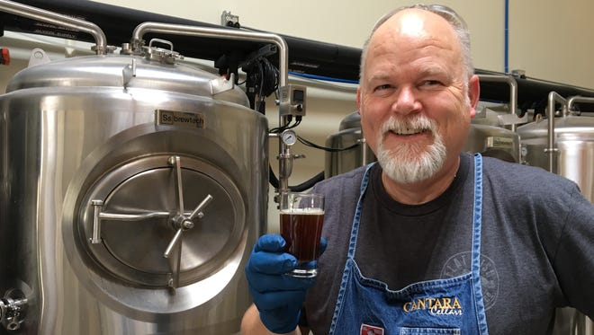Vintner-turned-brewmaster Mike Brown will be on hand to talk wine and beer during a Father's Day Weekend barrel-tasting event at Cantara Cellars in Camarillo. The winery is also the site of the newly launched Flat Fish Brewing Co.