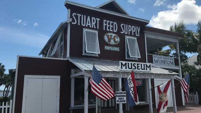 The Stuart Heritage Museum at 161 S.W. Flagler Ave. is open from 10 a.m. until 3 p.m. daily, except holidays.