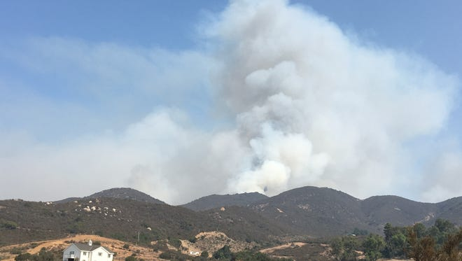 Authorities have arrested a man accused of sparking the Holy Fire, the wildfire that has scorched more than 6,200 acres in the Cleveland National Forest since Monday, August 6, 2018.