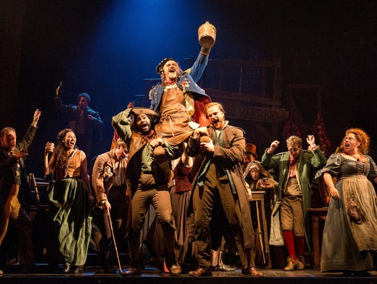 """Les Miserables"" is playing in Appleton through Sunday."
