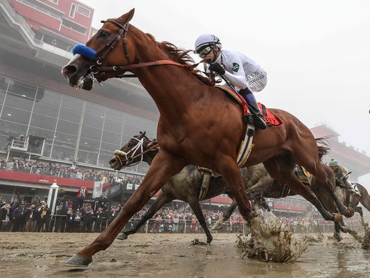 USP HORSE RACING: 143RD PREAKNESS S HOR USA MD