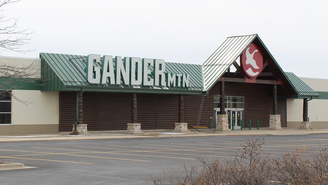 The former Gander Mountain store at 2323 Woodman Drive in Howard.