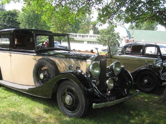 Wally Donoghue's 1937 Rolls Royce 25/30 Sedanca DeVille.