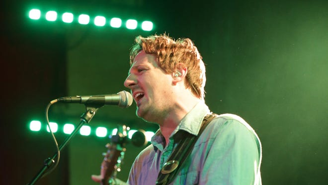 Sturgill Simpson performs on Sunday at the Vogue.