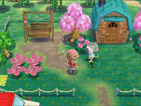"Get your interior and exterior decorator on in ""Animal Crossing: Happy Home Designer."""