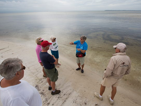 Take a guided Bunche Beach on Mondays.