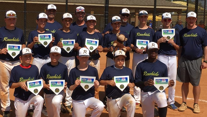 The Raleigh Baseball Institute 14 and under team won the Jay Criscione Super NIT tournament held Sept. 24 and 25 in Upstate South Carolina.