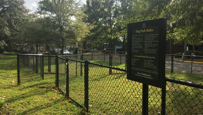 In a Friday ceremony, the city of Tallahassee will open this dog park at Gaines Street and Martin Luther King Jr. Boulevard.