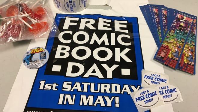 Free Comic Book Day kicks off Saturday.