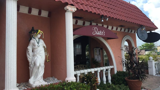 Slate's in Cape Coral offers a menu that focuses on Cajun flavors plus a jazz club.