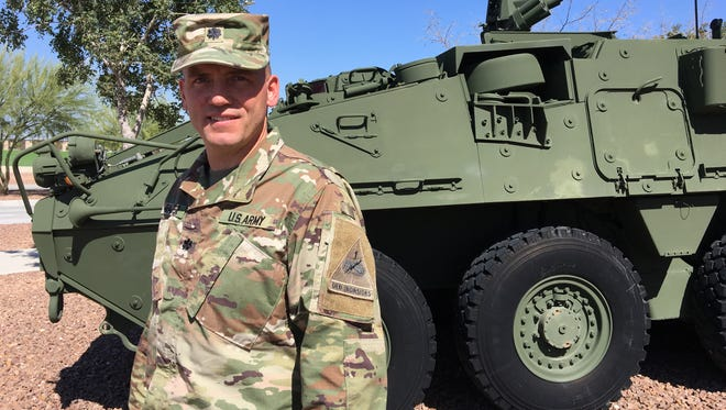 Lt. Col. Jim Gallagher led the 501st Brigade Support Battalion for the past two years. He relinquished command on Oct. 13.