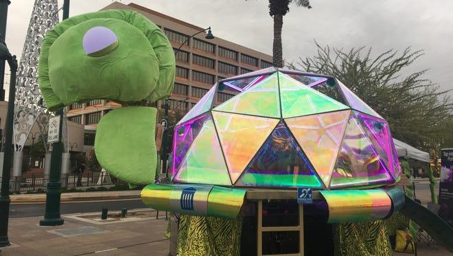 The Wayward Beasties art car at Mesa's Main Street Prototyping Festival on Friday, Nov. 11.
