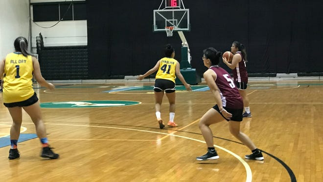 Fuetsa Basketball Club drubbed the University of Guam Recreation Department Trident Women's Basketball Club Team 76-37 Monday in the Trident Women's Basketball League.