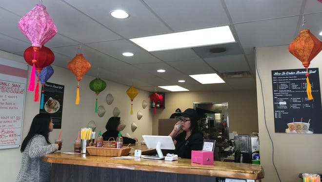 The Bubble Shack is a new shop at 3205 Concord Pike in Talleyville featuring Vietnamese banh mi sandwiches and bubble tea.