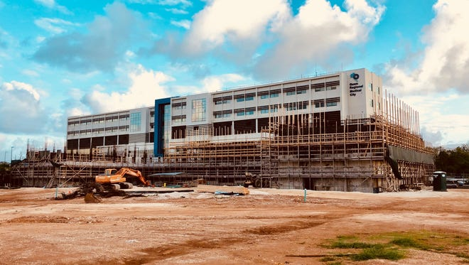 The Medical Arts Center under construction as of May 2018.