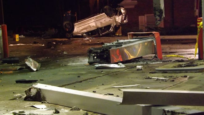 A jury convicted Kevin L. Henson of 12 felonies relating to the March 2014 accident that destroyed the Speedway gas station on Chester Boulevard.