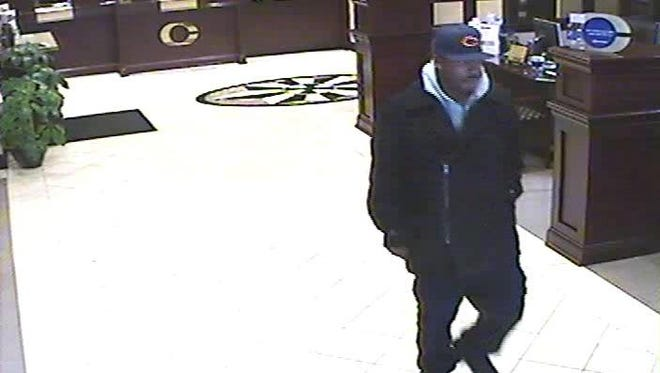 LMPD is asking for help identifying the pictured suspect, who allegedly robbed Central Bank downtown on Dec. 28, 2016.